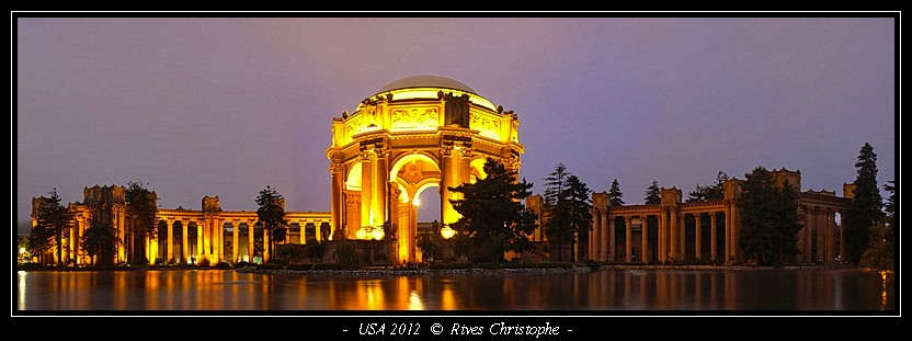 San-Fransisco Palace of Fine Arts